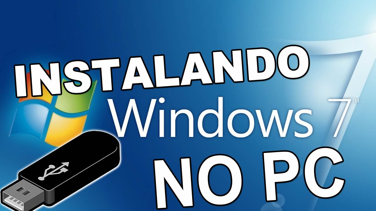 Como instalar o windows 7 pelo pen drive
